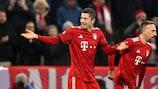 Lewandowski entra no clube dos 50 golos