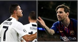 Ronaldo et Messi, seuls au monde...