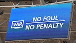 VAR to be used in this season's Champions League