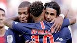 O Paris marcou 50 golos na Ligue 1 nos primeiros 17 jogos na competição