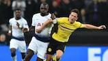 O Dortmund tem uma desvantagem pesada para anular frente ao Tottenham
