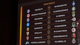 UEFA Europa League round of 16 draw