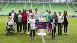 The Ferencváros Stadium played host to the ticket launch