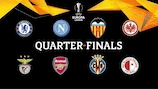 Eight teams remain in the hunt for the UEFA Europa League trophy