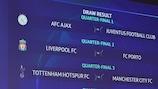Champions League quarter-final and semi-final draws