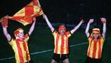 Les joueurs du FC Malines fêtent un nouveau titre