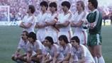 Vainqueurs de la Coupe des champion, les joueurs du Steaua ont aussi remporté la Super Coupe