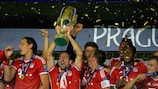 In Prague, Bayern contested the first UEFA Super Cup game this century to be played outside Monaco