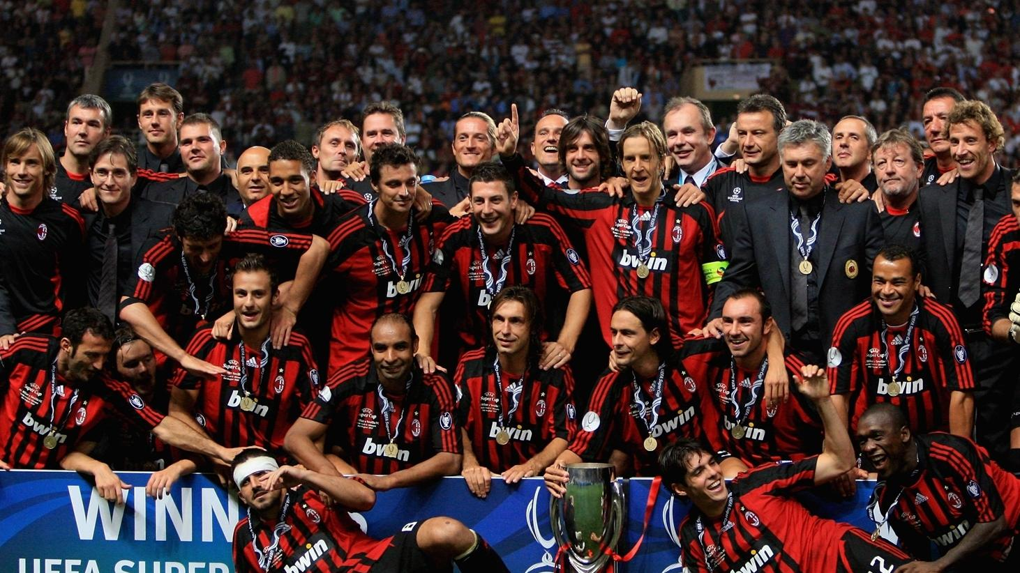 Uefa Super Cup 2007 Milan Overcome Sombre Sevilla