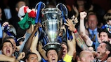 Inter lifted the UEFA Champions League Trophy in Madrid on 22 May