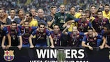Barcelona beat Porto for fourth UEFA Super Cup