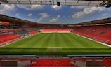 Una imagen del Eden Stadium de Praga