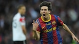 Lionel Messi is once again the UEFA Champions League's most prolific marksman