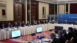 The UEFA Executive Committee meets in Kyiv