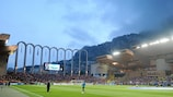 The Stade Louis II in Monaco stages the meeting of Chelsea and Atlético on 31 August