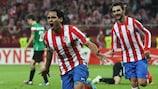 Falcao und Diego schießen Atlético zum Sieg