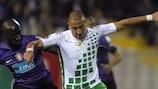 Nabil Ghilas (rechts) gegen Porto in der letzten Saison