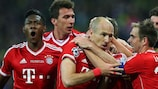 Bayern clinched their fifth European title at Wembley
