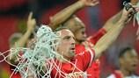 Franck Ribéry savours Bayern's UEFA Champions League triumph at Wembley