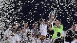 Madrid return to heroes' welcome