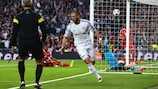 Benzema gives Madrid the edge against Bayern