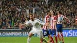 Sergio Ramos marcó el gol del empate del Real Madrid