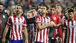Atlético's Godín and Luís look back with pride