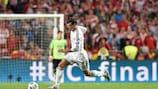 Gareth Bale esteve em destaque na final de Lisboa
