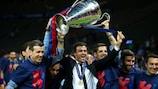 Luis Enrique alza la Coppa dei Campioni