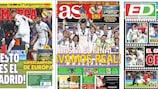 As capas da imprensa espanhola desta quarta-feira