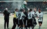 O Rosenborg venceu o Real Madrid por 2-0 no Lerkendal Stadion, em 1997