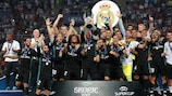 Real Madrid beat Man. United to retain Super Cup