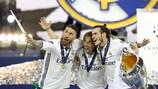 Sergio Ramos, Gareth Bale and Luka Modrić's UEFA Champions League final selfie