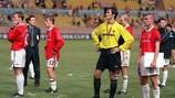 1999 verlor United im UEFA-Superpokal gegen Lazio