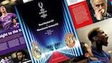 Das Programmheft für den UEFA-Superpokal ist jetzt erhältlich