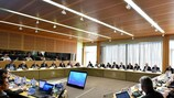 The UEFA Executive Committee at its meeting in Nyon