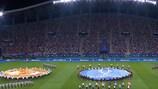 Cérémonie d'ouverture de la Super Coupe