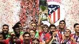 Atlético win UEFA Super Cup thriller: as it happened, reaction