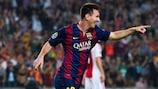 Lionel Messi es el máximo goleador histórico de la fase de grupos