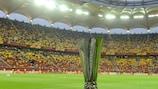 Die Trophäe der UEFA Europa League