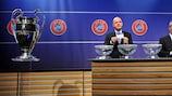 UEFA Champions League draw reaction