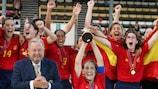 Spain were surprise victors in 2004