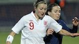 Anglaises et Françaises espèrent se qualifier pour la phase finale suédoise