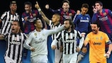 Os nomeados para o Prémio de Melhor Jogador da UEFA na Europa