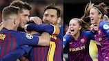 Barcelona in sight of unique double