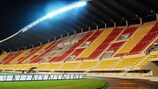 Spain will take on FYR Macedonia to mark the official opening of the new Filip II Stadium