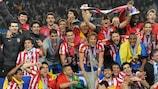 2009/10: Atlético krönt historische Saison