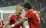 Bayern erholt sich von der Schmach 2012