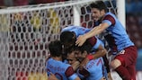 Trabzonspor will hope to close out their tie with Derry