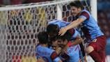 El Trabzonspor espera superar su eliminatoria ante el Derry